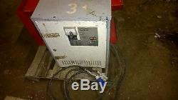 Forklift Single Phase Battery Charger Rating Plate In German You Translate