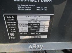 GNB 24V Industrial Forklift Battery Charger 120/208/240V 260AH SCR100-12-260S1Z