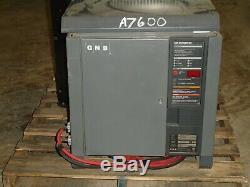 GNB Battery Charger Tested Good 24 Volt / 600AHR (Pallet Jack / Picker)