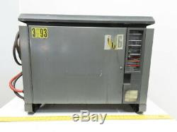 GNB FER100 24-600 TI 48V 208-240/480VAC Input Forklift Battery Charger 24 Cell