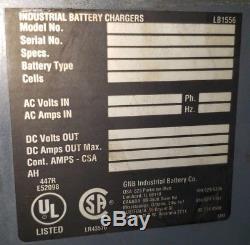 GNB FER100 FER 36v 18 Cell 965ah Charger 100 Forklift Battery