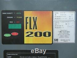 GNB FLX200 FLX 200 36 Volt 36V Forklift Battery Charger 750 AH 208 230 480V