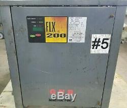 GNB FLX 200 36V 135A Forklift Battery Charger 208 230 480 SCR20018865T1H