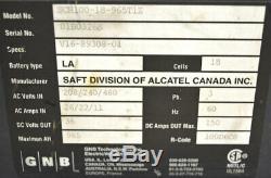 GNB SCR100-18-965T1Z 36V 3-Ph Forklift Battery Charger 965-AH DC-Amp-Out150 LA