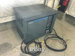 GNB SCR100 24-600 TIZ 48V 208-240/480 Forklift Battery Charger