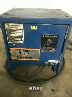 GNB ferrocharger 24 volt single phase forklift pallet jack charger