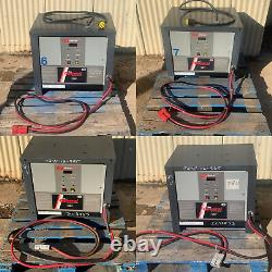 General 2000 or 7000 yuasa 24 volt forklift battery charger 3ph 208 240 480