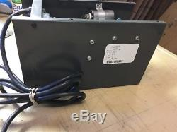 Golf Cart FORKLIFT ON BOARD BATTERY CHARGER 24 VOLT DC 15AMP 120VAC Quick Charge