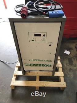 HOPPECKE PLUS 48v 80AMP THREE PHASE FORKLIFT BATTERY CHARGER