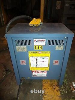 Hawker Oldham Hawker Auto 48VDC Battery Charger, 600V/3PH/50/60 CYC AC Input