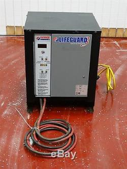 Hawker Powersource LifeGuard LG12-540F1A Charger 24V 97A AH540 1PH 60HZ 12Cells