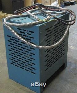 Hertner Auto 1000 24V Electric Forklift Battery Charger 208/240/480V 550AH Ph 1