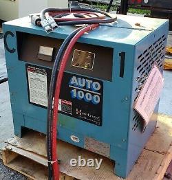 Hertner Auto 1000 24V Forklift Battery Charger Model 3TN12-1200 3 phase