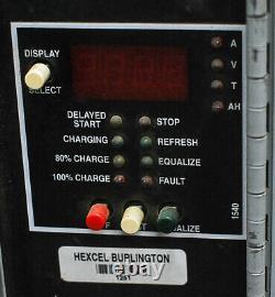 Hertner Division TW24-680 Forklift Battery Charger