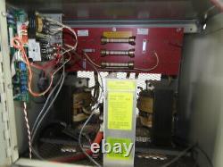 Hertner TW18-1050 208-240/480V Input 18 Cell 36VDC Forklift Battery Charger