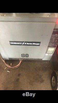 Hobart 36 Volt Forklift Battery Charger, 3 Phase