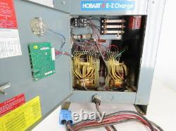Hobart 48V 208-240/480VAC Input Forklift Battery Charger 24 Cell