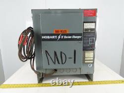 Hobart 540B1-12R 208-230/460V Input 12 Cell 24VDC Forklift Battery Charger