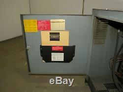 Hobart 600C3-24 48 Volt 208-240/480VAC Input Forklift Battery Charger 24 Cell
