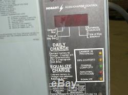 Hobart 725C3-24 48V 208-240/480VAC Input Forklift Battery Charger 24 Cell