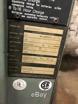 Hobart Battery Charger 36V Forklift Battery Charger