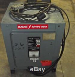Hobart    Battery   mate 750h31bc 36v    Forklift       Battery    Charger