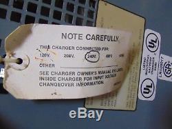 Hobart E-Z Charge 12 Volt Forklift Battery Charger 240V Input
