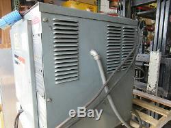 Hobart Forklift Battery Charger 48 Volts 600 A. H. In 8 Hrs 208/240/480V 3PH VGC