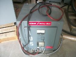 Hobart Forklift Battery Charger 725h3-18 DC Out 36v Ac In 208/240/480 3ph