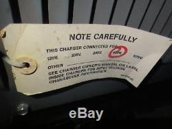 Hobart Ultra Charge CDAC UC2000 480v forklift battery charger 24x29x28H