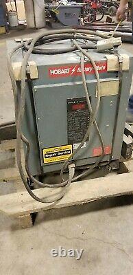 Hobart forklift charger