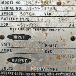 Hobart forklift charger 1R18-550