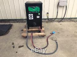 Hyster Electric Powered Fork Lift Truck Tow Motor 3 Phase Battery Charger 48volt