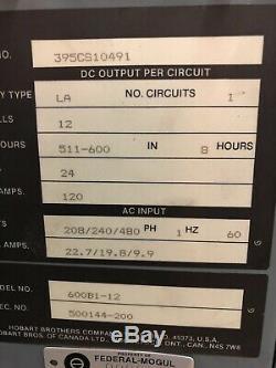Industrial Battery Charger Forklift 24 Volt Single Phase