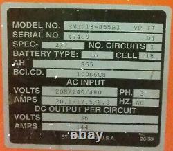 Industrial Energy Inc. 36V/144A Forklift Battery Charger
