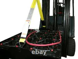 Industrial Forklift Battery Lifting Sling Beam 5000#