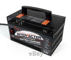 Interacter 36v 20 Amp Industrial Battery Charger / Maintainer Golf Forklift
