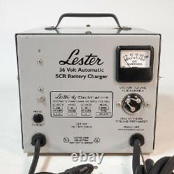 Lester 25900 36V Automatic SCR Battery Charger Forklift / Golf Cart USA Made
