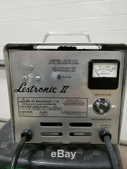 Lestronic II 36 volt Charger