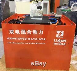 Lithium Battery For Fork Lift Truck, 12V-83.2V, 20ah-800ah, BMS