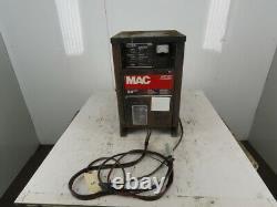 MAC B8920JJ Forklift Battery Charger 24V 40A Output 208-230/460V 3Ph Input