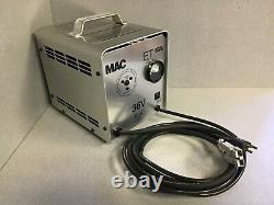 MAC ET362016 36 volt 20 amp Automatic Battery Charger golf cart, forklift etc