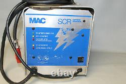 MAC SCR 24V 20A Scrubber Sweeper Red Plug Battery Charger SCR242017
