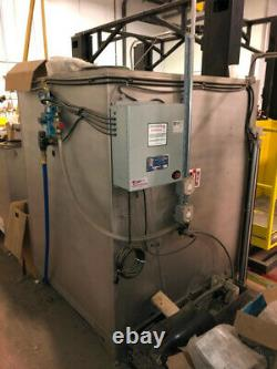 MTC Vacuum Battery Changer 2 Level PCHE-2-24-DS-V with Washer, Racks, Exchanger