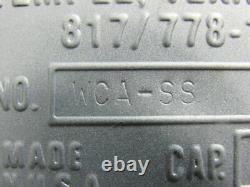 MTC WCA-SS Stainless Steel Industrial Automatic Forklift Battery Washer Cabinet