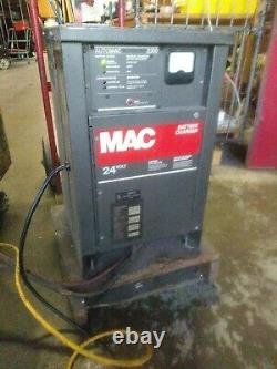 Mac Automac 2200 Forklift Battery Charger 24v 1ph Works