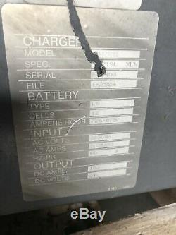 Mac Automac 2200 Forklift Battery Charger 24v 3ph Works