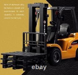 Metal HUINA 1577 Forklift 2.4GHz 8CH 1/10 Scale NiCd Battery USB Charger New RTR