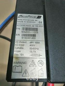 MicroPower ACCESSO 8000 48V 165A 380V
