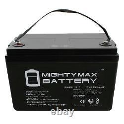 Mighty Max 12V 110AH SLA Battery Replaces Forklift Pallet Jack Mobile Home RV